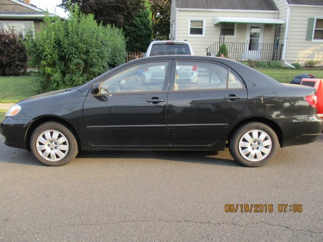 Toyota Corolla 2003 LE-Black-Automatic