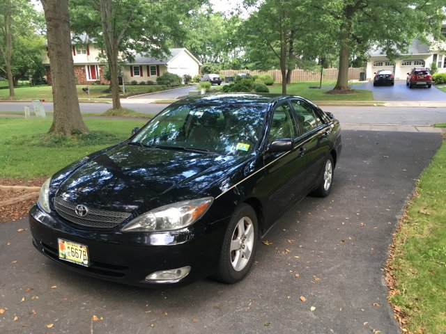 2002 TOYOTA CAMRY FOR SALE BY OWNER